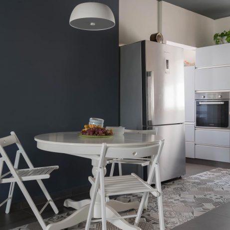 שיפוץ חדר מטבח של 72 גג אביב קופלר