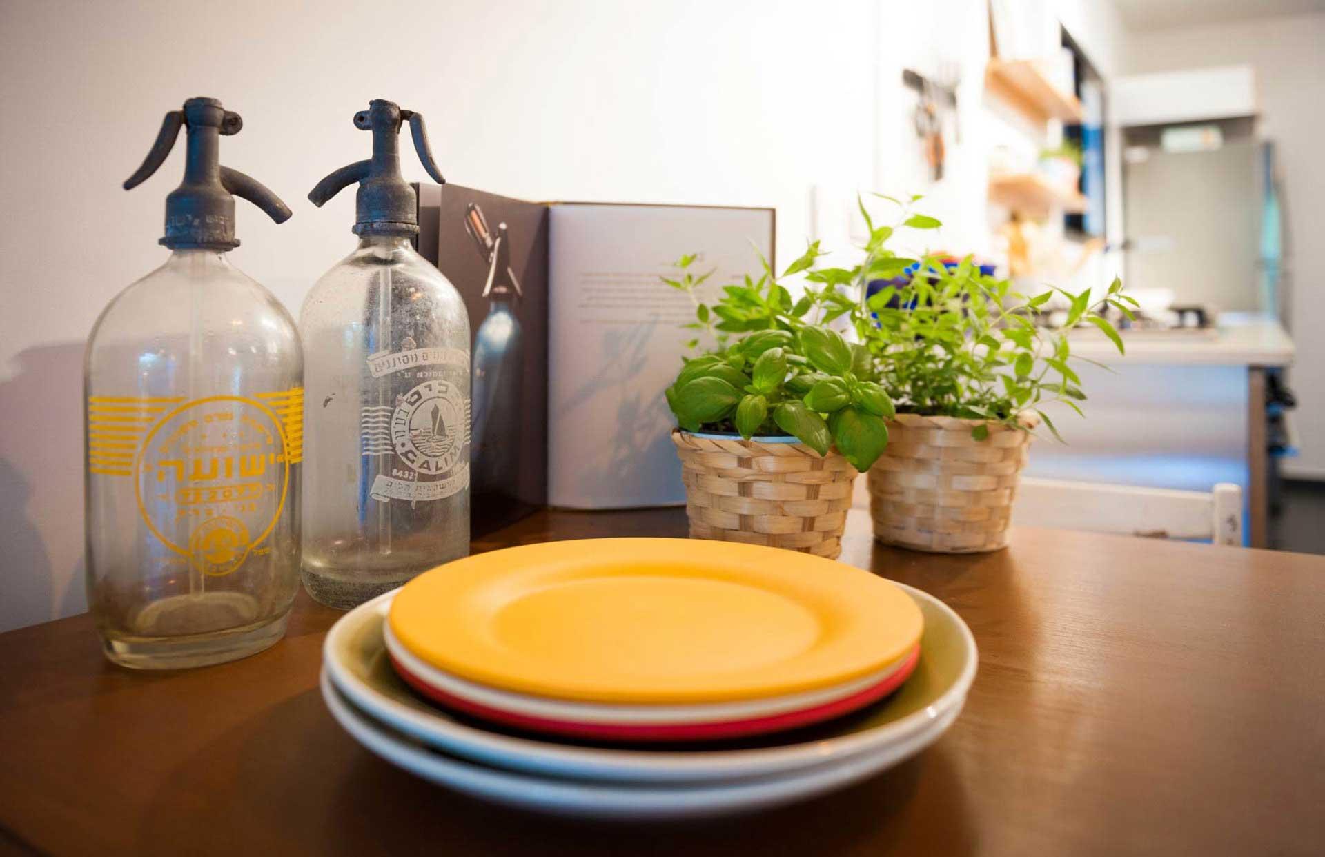 עיצוב חדר מטבח אביב קופלר