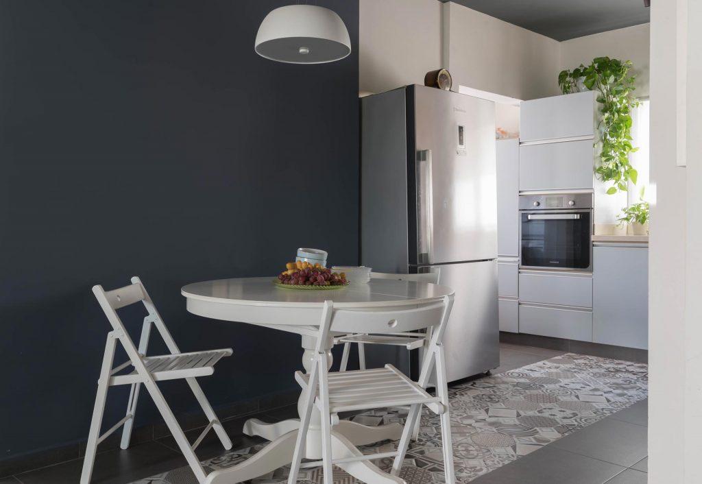 """עיצוב ושיפוץ דירה בהרצליה, 3 חדרים 75 מ""""ר"""