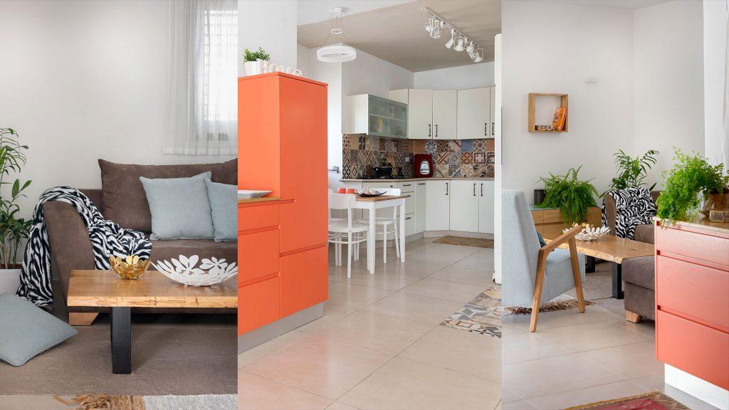 """שיפוץ דירה במרכז הרצליה, 5 חדרים 120 מ""""ר"""