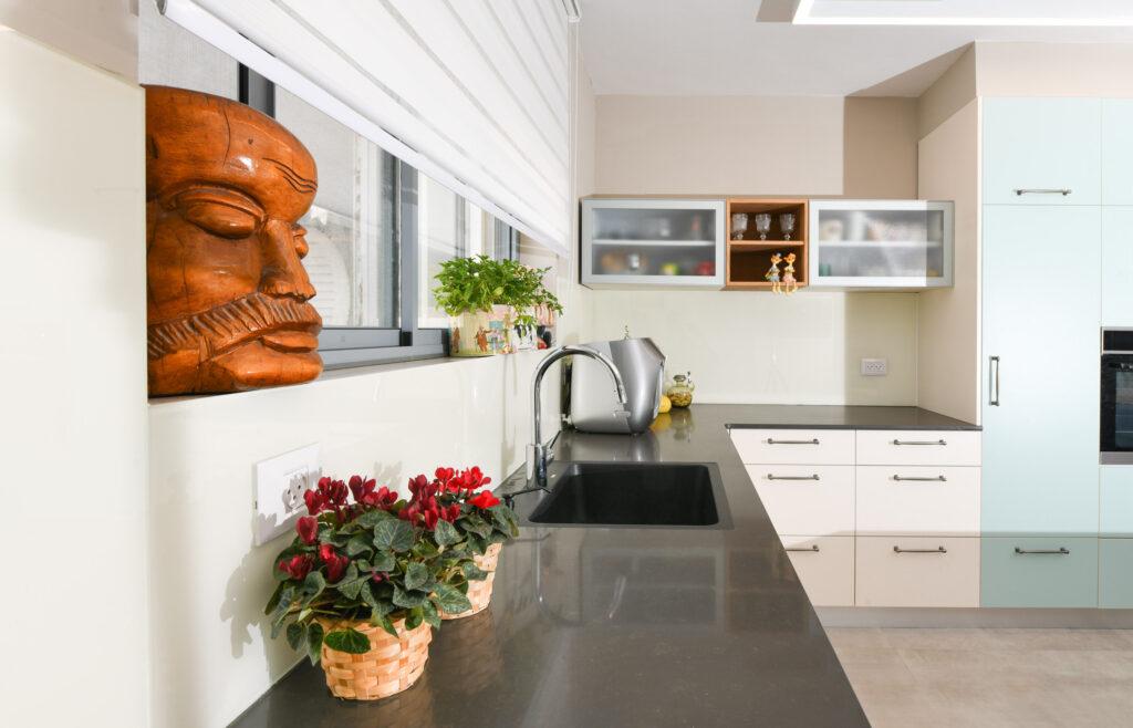 שיפוץ ועיצוב פנים ל דירה בחולון - מטבח